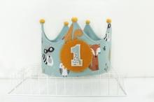 Corona cumpleaños Animales del bosque