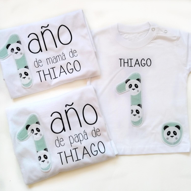 Pack camisetas papás + camiseta niño/a