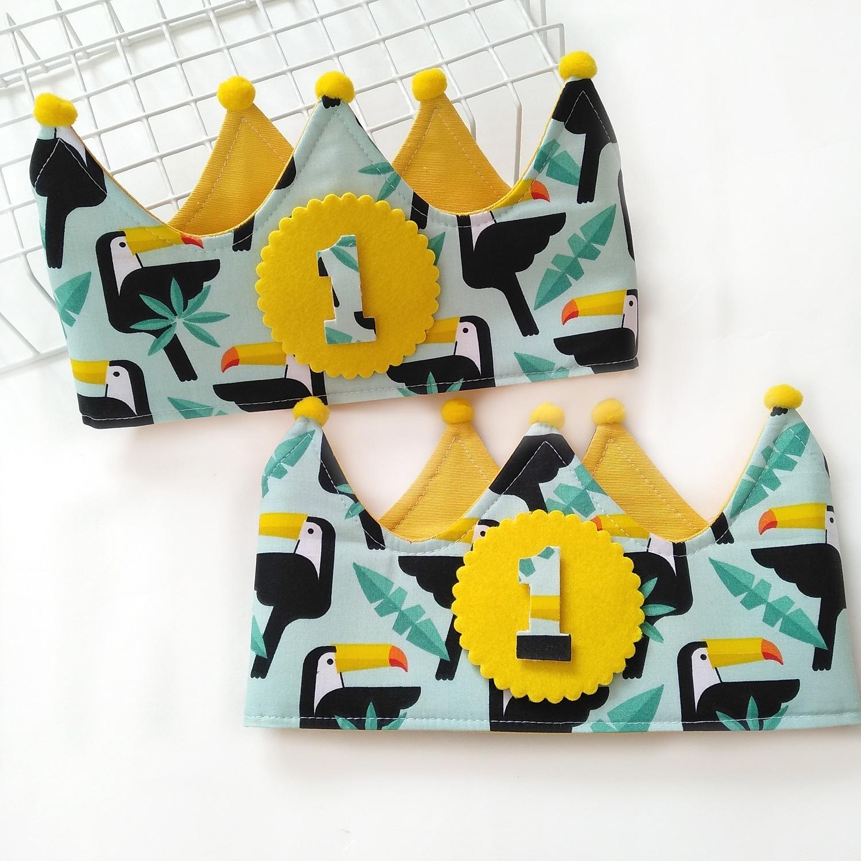 Corona cumpleaños Tucanes