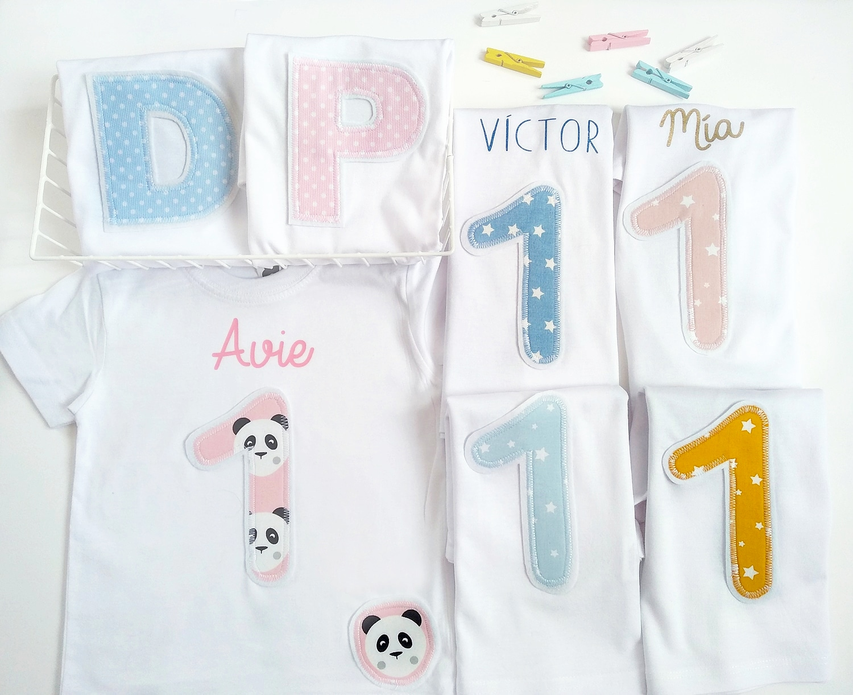Camiseta cumpleaños Niña/Niño Varios estampados