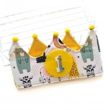 Corona cumpleaños Animalitos con gafas, Edición limitada