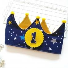 Corona cumpleaños Espacio