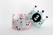 Corona cumpleaños Pandas