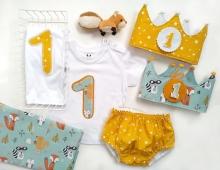 Pack cumpleaños 8 Niño Varios estampados